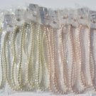 Wholesale Fashion Jewelry Faux Pearl Necklace & Earring Sets - Lot of 12 / 3 piece Sets #13!