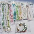 Wholesale Fashion Jewelry Variety Necklace & Earring Sets - Lot of 12 / 3 piece Sets #15!