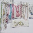 Wholesale Fashion Jewelry Variety Necklace & Earring Sets - Lot of 12 / 3 piece Sets #17!