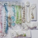 Wholesale Fashion Jewelry Variety Necklace & Earring Sets - Lot of 12 / 3 piece Sets #21!