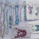 Wholesale Fashion Jewelry Variety Necklace & Earring Sets - Lot of 12 / 3 piece Sets #22!