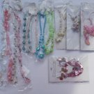 Wholesale Fashion Jewelry Variety Necklace & Earring Sets - Lot of 12 / 3 piece Sets #23!