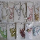 Wholesale Fashion Jewelry Variety Necklace & Earring Sets - Lot of 12 / 3 piece Sets #26!