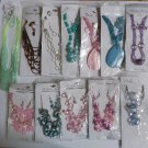 Wholesale Fashion Jewelry Variety Necklace & Earring Sets - Lot of 12 / 3 piece Sets #27!