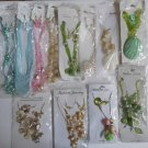 Wholesale Fashion Jewelry Variety Necklace & Earring Sets - Lot of 12 / 3 piece Sets #28!