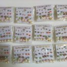 Wholesale Fashion Jewelry Multi Color Faux Pearl Earring Sets - Lot of 144 Pairs #30!