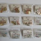 Wholesale Fashion Jewelry Variety Post & Dangle Earring Sets - Lot of 108 Pairs #32!