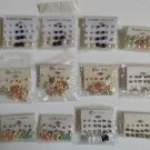 Wholesale Fashion Jewelry Variety Post & Dangle Earring Sets - Lot of 117 Pairs #33!