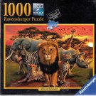 Ravensburger 1000 piece Puzzle - African Splendor - Made in Germany - Sealed!