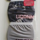 UCONN Officially Licensed Face Cover Mask Set of 2 - Blue Camo & Gray with LOGO!