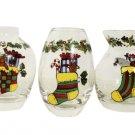 PS Portmeirion Studio 'A Christmas Story' Set of 3 Mini Vases #365605 (#2)!