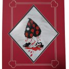 Disney Alice In Wonderland 'Painting the Roses Red' Deluxe Matted Print by Brian Crosby, Imagineer!