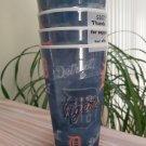 MLB DETROIT TIGERS Lenticular Holographic Capital Spirit 20 oz Plastic Cups - Set of 4-  Sealed!