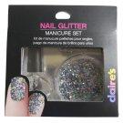 Claire's Nail Multi Color Glitter Manicure Set - Made in USA!