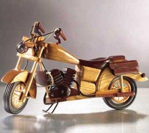 wood Model Motorcycle
