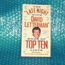 David Letterman TOP TEN 0671726714  (703)