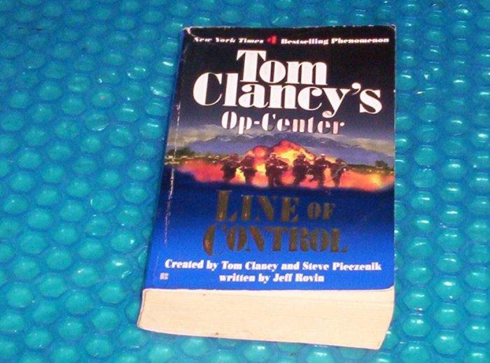 Tom Clancy's Op-Center Line of Control 0425180050 (639)