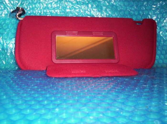 Driver side  Viser with mirror Ford Tempo 94      (R4)