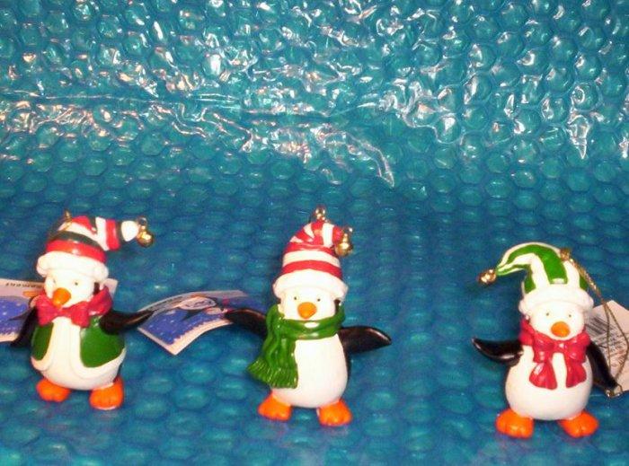 Holiday Happy Feet Penguin Christmas Ornaments  (854)