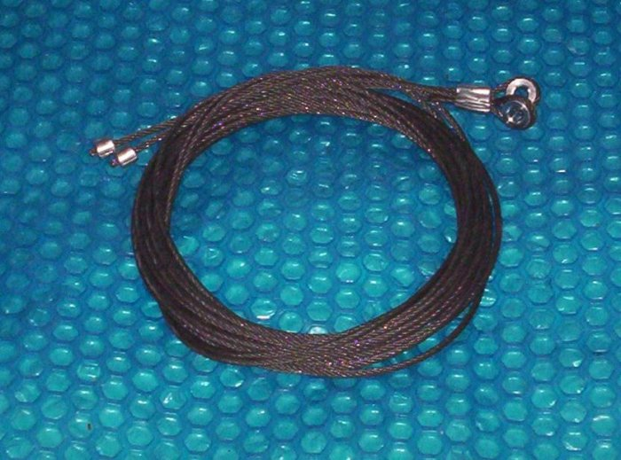 GARAGE  DOOR 14ft. Cable Set           stk#(867)