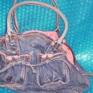 "GAP ""Faded"" HANDBAG     stk#(834)"