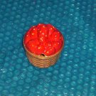 Vintage Strawberry Basket Sugar Bowl                     stk#(916)