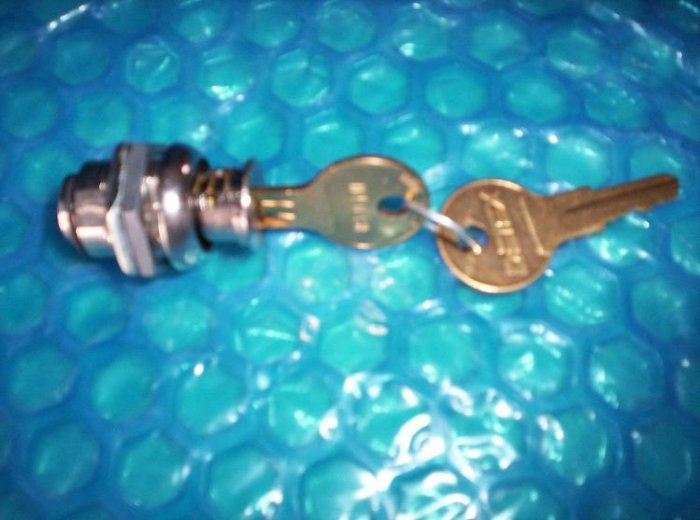 DETEX  COVER    LOCK  W/KEY  #PP-5572               stk#(391)