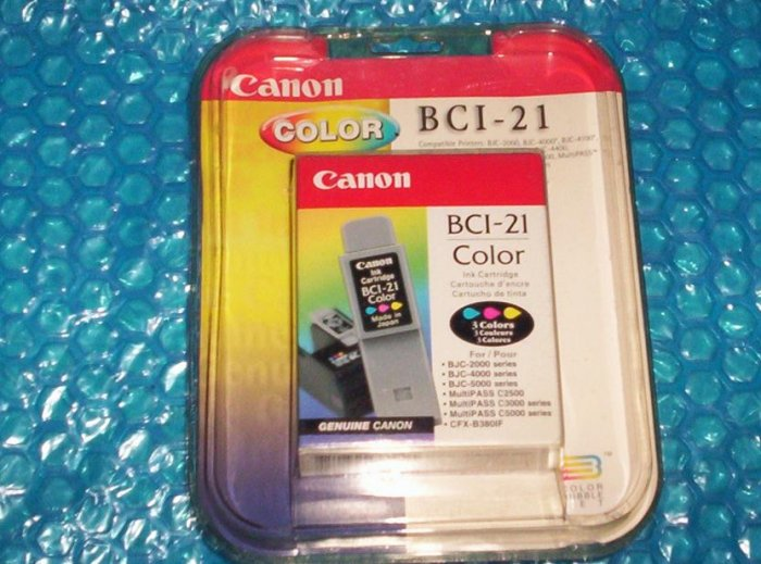 Canon Ink Cartridge  Color  BCI-21    (943)