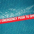 Door  Emergency  Label      stk#(944)