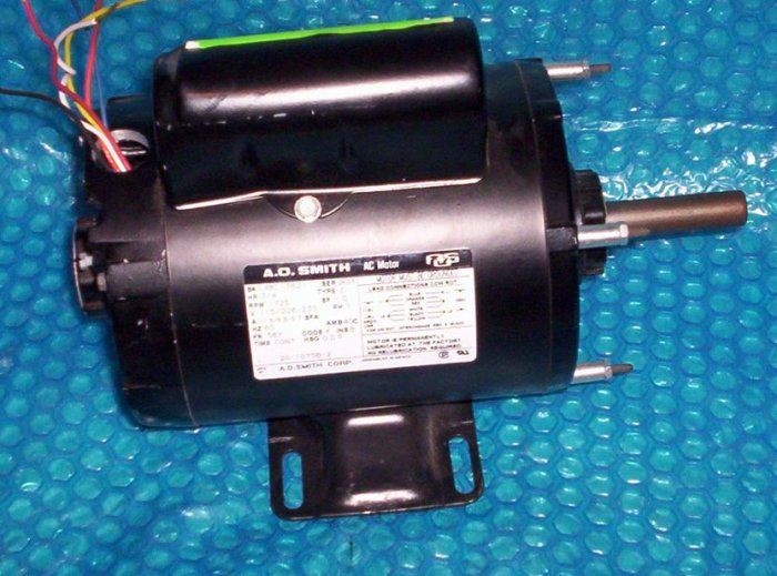 Garage Door opener MOTOR A.O. Smith 3/4HP  (948)