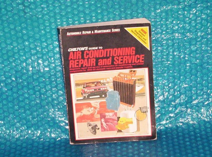 CHILTON'S Air Conditioning  0-801975808 stk#(966)