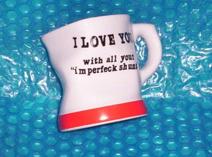COFFEE MUG      I Love You               (403)