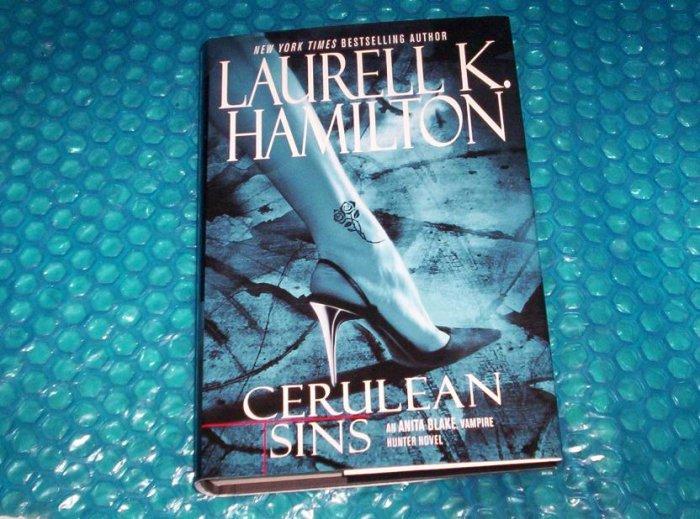 Cerulean  Sins  by  Laurell K. Hamilton  0-425-18836-1 stk#(237)