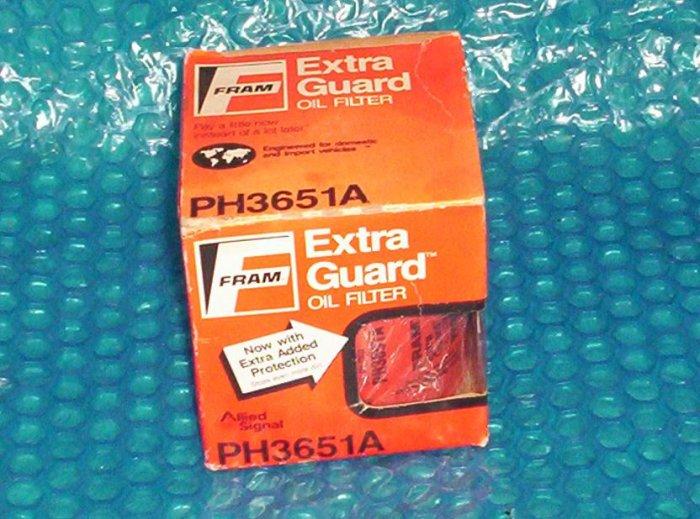 FRAM Oil Filter  PH3651A  Datsun 200SX     (1034)
