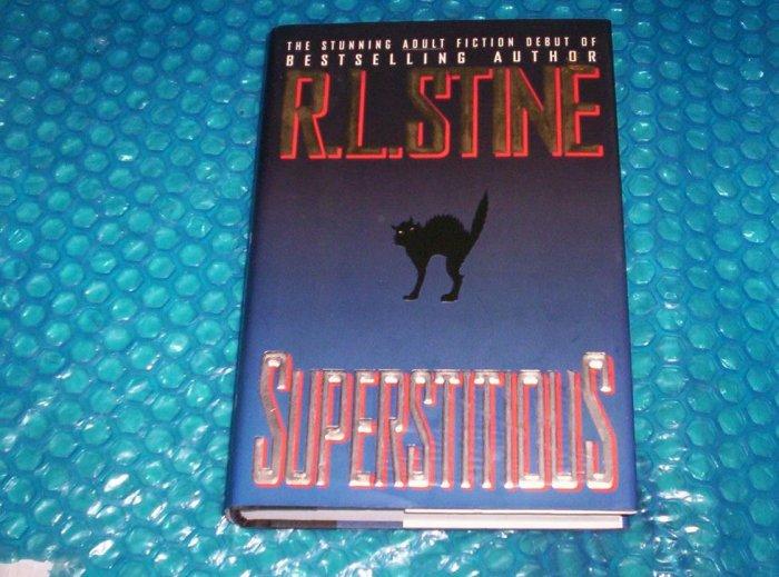 R.L.STINE SUPERSTITIOUS                    stk#(1098)