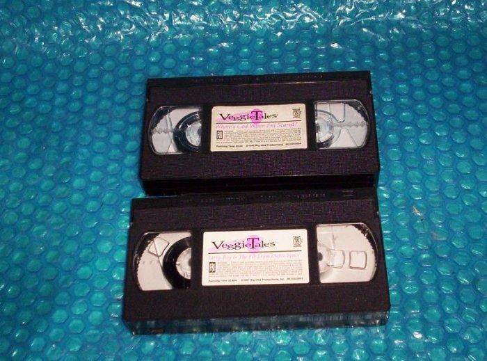 VeggieTales     VHS                                 stk#(1125)