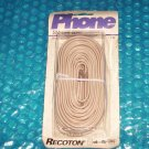Phone Extension Wire   50ft. cord   T 63     stk#(1136)