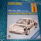 Saturn  Haynes Repair Manual 87010 (2083)    stk#(1128)