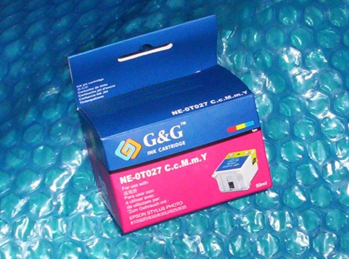 Epson Stylus Photo Ink Cartridge NE-0T027  Stk#(1202)