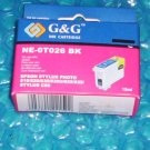 Epson Stylus Photo Ink Cartridge NE-0T026 BK Stk#(1205)