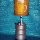 Beer Keg Table Lamp stk#(2097)