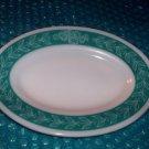 Vintage Oval Serving Platter   stk#(2185)