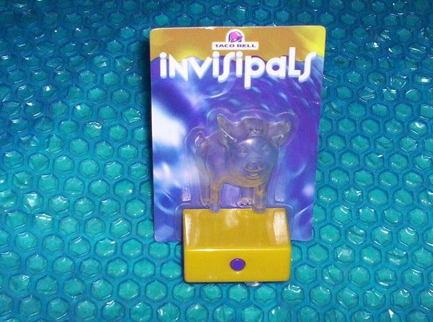 Taco Bell  Invisipals 2003 Pig promotional Taco Bell    stk#(2450)