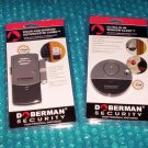 Doberman Security Starter Set Door &Window Defender w/Chime and Ultra-Slim Window Alert   stk#(2660)