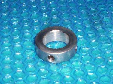 """Round Shaft collar  1.25"""" with 2 set screws  stk#(2678)"""