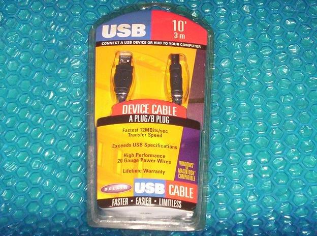 Belkin USB Cable P42351 stk#(736)
