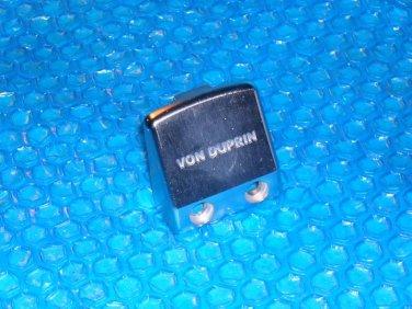 Von Duprin Stainless Steel End Cap  05001432D  stk#(2847)
