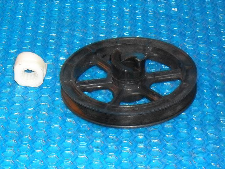 AMANA/ Speed Queen Washer AGITATOR   / Drive Pulley old #38427 new  #400471  stk#(1245)