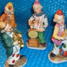 Ceramic Musical Clowns -stk#(3010)