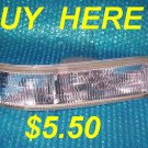 Chevrolet/GMC Astro Parking/Side Lamp Assembly RH  stk#(2672)